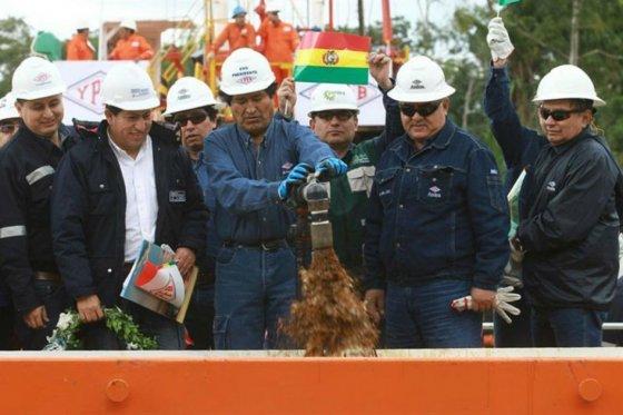 Foto: EFE El hallazgo permitirá triplicar sus reservas de hidrocarburos líquidos en Yapacani