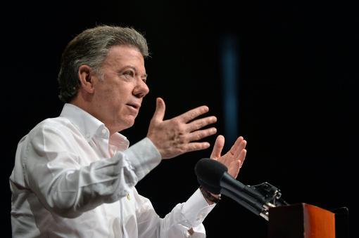 Juan Manuel Santos Foto: Presidencia