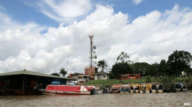 Puerto Gaitán está a orillas del río Manacacías, donde algunos ven una oportunidad turística.