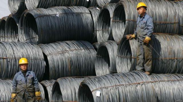 China enfrenta una sobreproducción de acero.