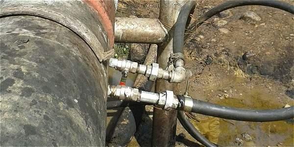 Las válvulas ilícitas han producido derrames en más de 50.000 metros cuadrados.