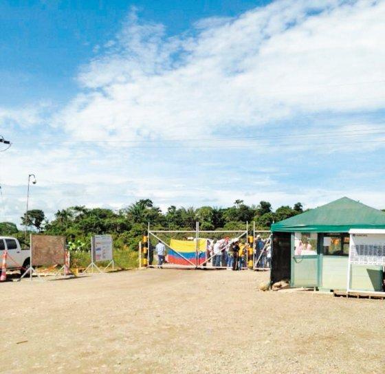 Anormal situación laboral han desatado representantes comunales en campos petroleros de Ecopetrol. / Ecopetrol