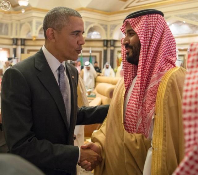 Barack Obama y con el descendiente de la monarquía siempre aliada de Estados Unidos