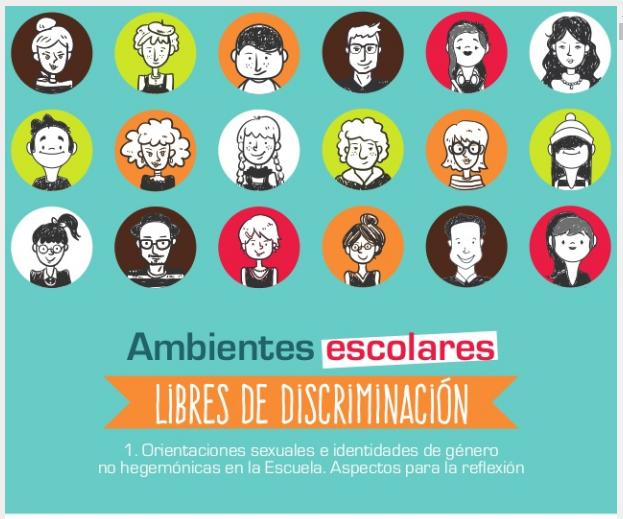 Cartilla ambientes escolares libres de discriminacion