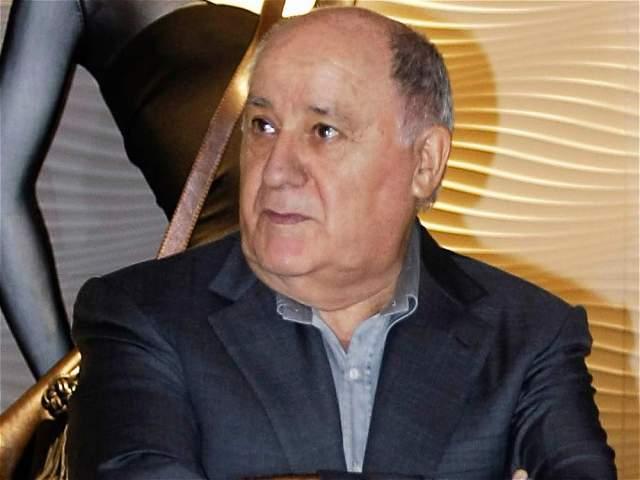 REUTERS Amancio Ortega, español dueño de la marca de ropa Zara, tiene 74 mil millones de dólares de fortuna, según la revista.