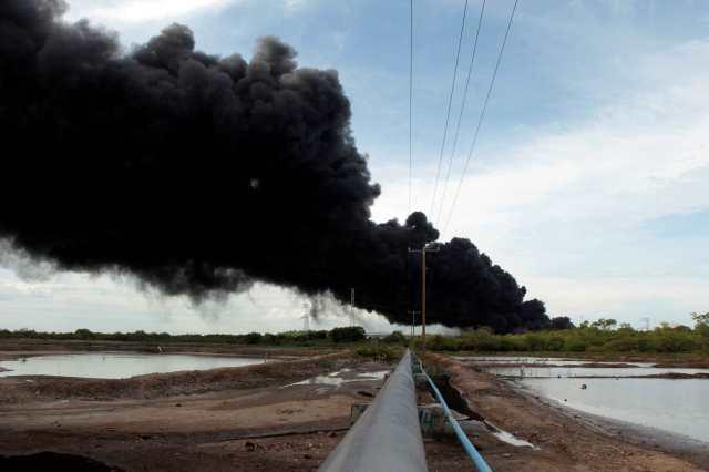 Puma Energy controla incendio