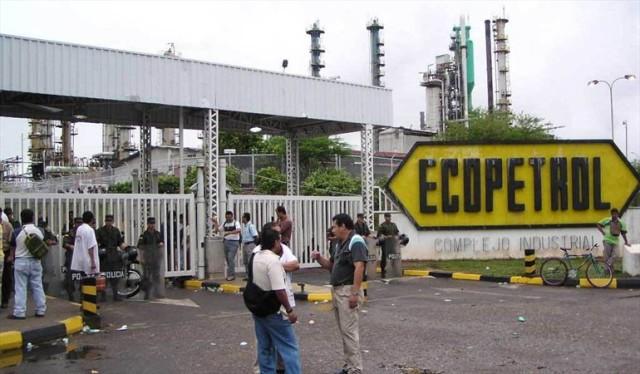 rabajadores de Ecopetrol afiliados a la USO anuncian huelga indefinida. Foto: Colprensa.