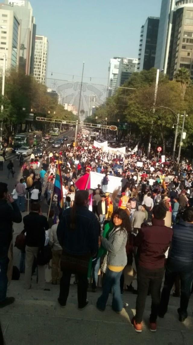 Protestas en México por alza a los precios de la gasolinaAldabi Olvera